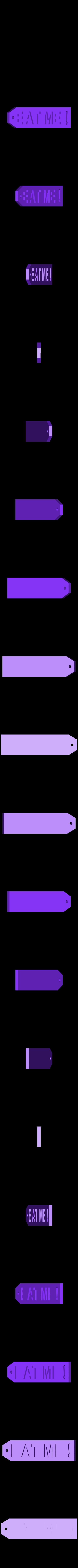 eat_back.stl Download free STL file Alice • 3D printable object, reddadsteve