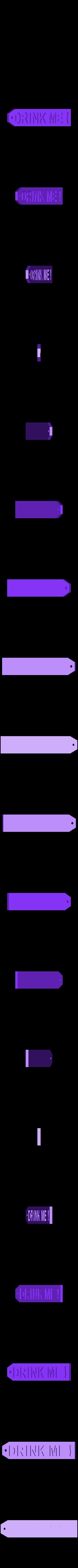 drink_back.stl Download free STL file Alice • 3D printable object, reddadsteve