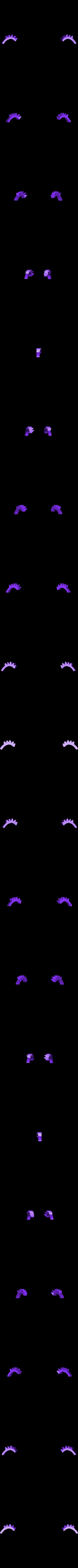eyelashes.stl Download free STL file Alice • 3D printable object, reddadsteve