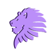 Lion Head.stl Download free STL file Lion head key chain  • 3D printer object, 3dprintlines