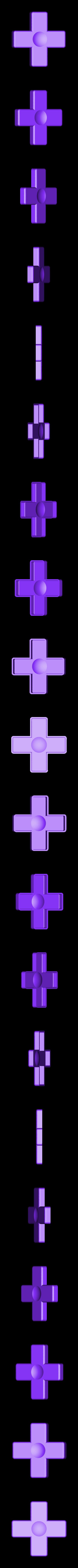 Cross.stl Télécharger fichier STL gratuit Bouton Gameboy Aimant • Design pour imprimante 3D, Fayeya
