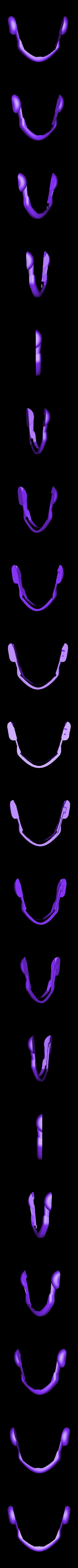 Kid-Visor_Upper.stl Télécharger fichier STL gratuit Visière Cyclope 90's • Objet à imprimer en 3D, Fayeya