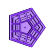 pentagon.STL Download free STL file the pentagon design • Object to 3D print, Fayeya
