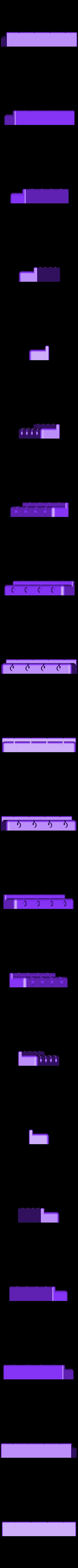 ukulele_bridge.stl Télécharger fichier STL gratuit Ukulélé imprimé 3d personnalisé • Modèle pour impression 3D, Witorgor