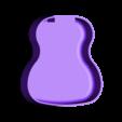 ukulele_body.stl Télécharger fichier STL gratuit Ukulélé imprimé 3d personnalisé • Modèle pour impression 3D, Witorgor