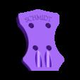 Ukulele_headstock.stl Télécharger fichier STL gratuit Ukulélé imprimé 3d personnalisé • Modèle pour impression 3D, Witorgor