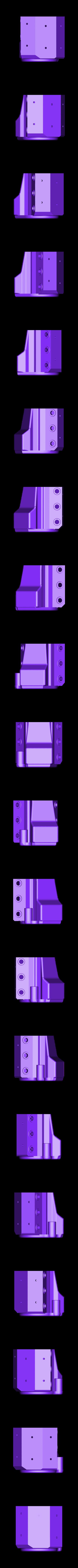 spu34motorshorthollow.stl Download STL file 34' Ford Pickup Hot Rod • 3D printing object, macone1