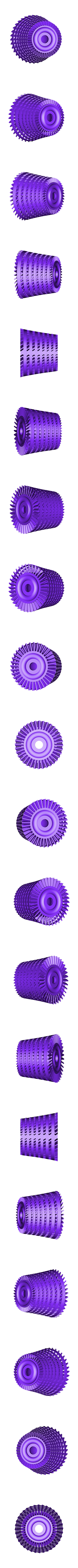 IPC-Rotor901ws.stl Download STL file Propfan Engine, Pusher Type using with Planetary Gearbox • 3D printer template, konchan77