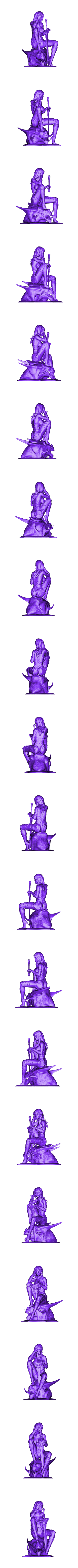 dragon head fix.stl Download STL file dragon head • Design to 3D print, walades