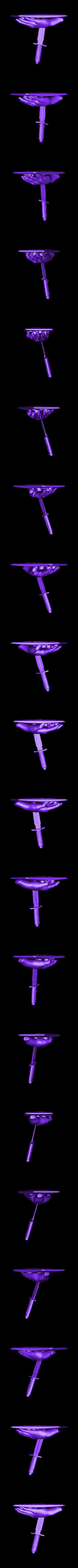 Knife  high poly obj.OBJ Download OBJ file knife • 3D print design, walades