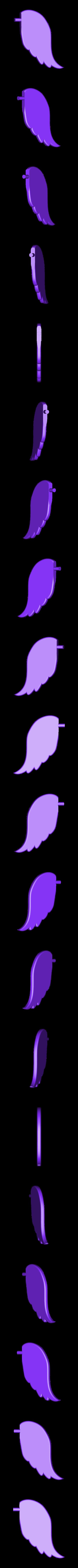 Wing.stl Download free STL file AngelBenchyTreeTopper • 3D printing model, Digitang3D