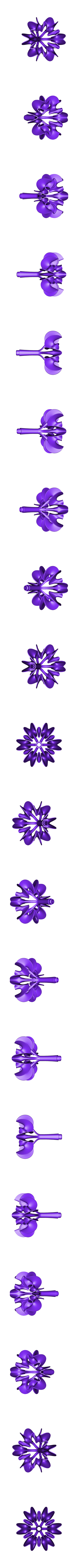 Blossoming_Tree_-B.stl Download free STL file Ghostly Wave Loop • 3D printable model, Pwenyrr