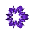 Blossoming_Tree_Flower_Support_02.stl Download free STL file Ghostly Wave Loop • 3D printable model, Pwenyrr