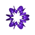 Blossoming_Tree_Flower.stl Download free STL file Ghostly Wave Loop • 3D printable model, Pwenyrr
