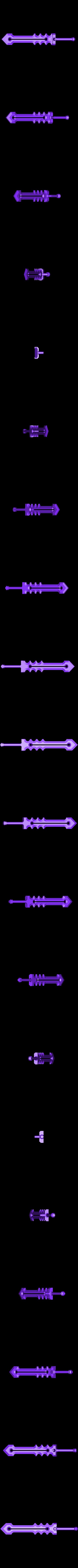 weapon2.stl Télécharger fichier STL gratuit Gorille Ares • Plan pour imprimante 3D, Pwenyrr