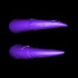MiniSaberToothSabers.stl Download free STL file MiniSaberToothSkull improvement Support • Template to 3D print, Pwenyrr