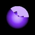 Earth_Top.stl Download free STL file Cutaway Earth Model • 3D print object, Pwenyrr