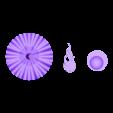 hallowheen_loose_parts.stl Download free STL file #halloween #pumpkin #MakerEdChallenge • Model to 3D print, Pwenyrr