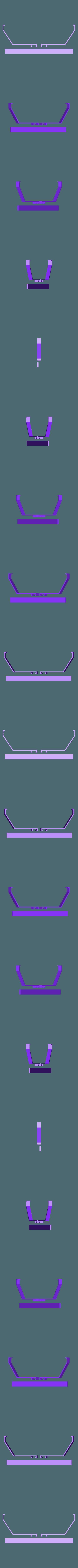 RAIL.STL Download free STL file Dremel 3D45 Tool Caddy • 3D print model, mkellsy