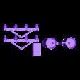 Utility Pole_N Scale.STL Download free STL file Utility Pole - N scale Model Railroad • 3D printing model, InvertLogic