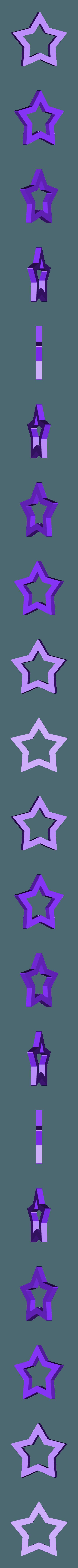Rosalina Star Wand Piece.stl Télécharger fichier STL Baguette Rosalina Star Pièce • Modèle pour impression 3D, httpkoopa