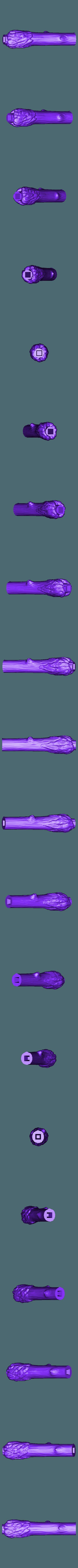 WandHarrypart02.OBJ Télécharger fichier OBJ gratuit baguette magique harry potter accessoire • Objet à imprimer en 3D, LowSeb