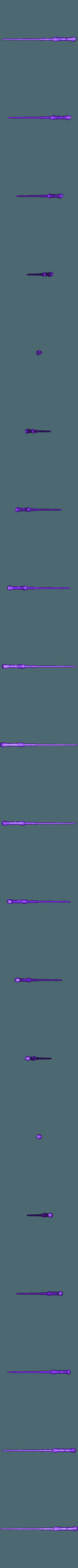 WandHarryHighDecimated.OBJ Télécharger fichier OBJ gratuit baguette magique harry potter accessoire • Objet à imprimer en 3D, LowSeb
