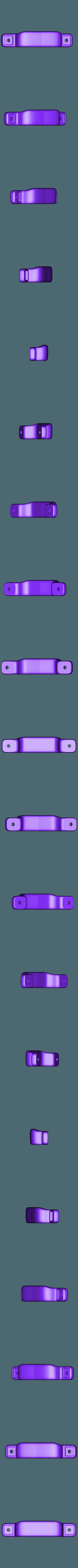 Poignee v2.stl Télécharger fichier STL gratuit Poignée à deux fixations • Objet pour impression 3D, gcarali