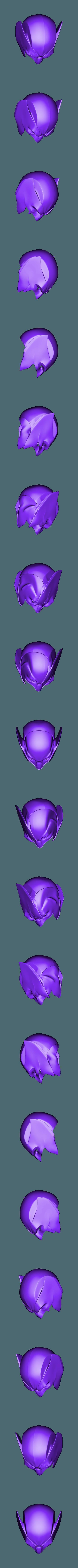Shortear.stl Download STL file Wolverine Mask • 3D printable model, VillainousPropShop