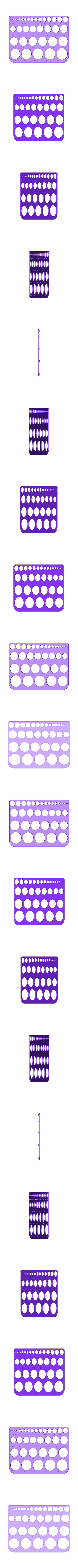 Circle Templates For Drawing.STL Télécharger fichier STL gratuit Gabarits de cercle pour le dessin • Modèle pour imprimante 3D, Saeid