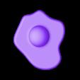 OeufTranche.stl Télécharger fichier STL gratuit Oeuf sur le Plat • Plan à imprimer en 3D, yalcars