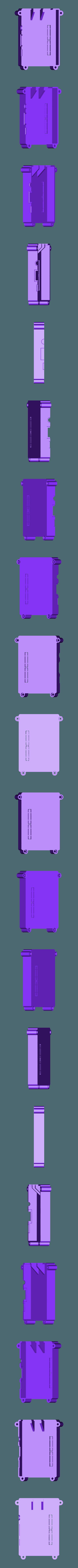 RTS-COVER-BLANK.STL Télécharger fichier STL gratuit Raspberry Pi Étui officiel pour écran tactile Raspberry Pi • Modèle pour imprimante 3D, mkellsy