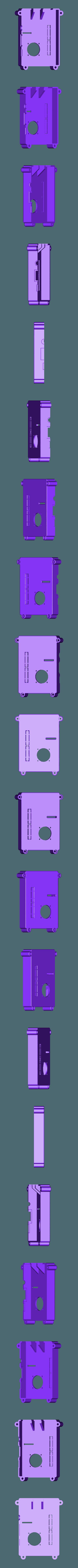 RTS-COVER-25FAN-BLANK.STL Télécharger fichier STL gratuit Raspberry Pi Étui officiel pour écran tactile Raspberry Pi • Modèle pour imprimante 3D, mkellsy