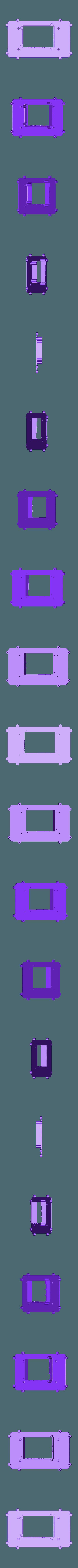 RTS-BACK.STL Télécharger fichier STL gratuit Raspberry Pi Étui officiel pour écran tactile Raspberry Pi • Modèle pour imprimante 3D, mkellsy