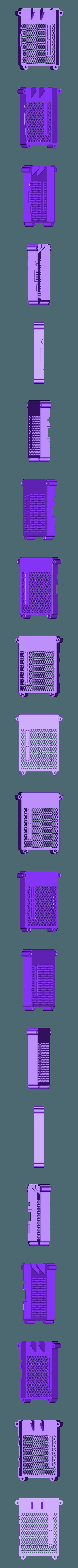 RTS-COVER.STL Télécharger fichier STL gratuit Raspberry Pi Étui officiel pour écran tactile Raspberry Pi • Modèle pour imprimante 3D, mkellsy