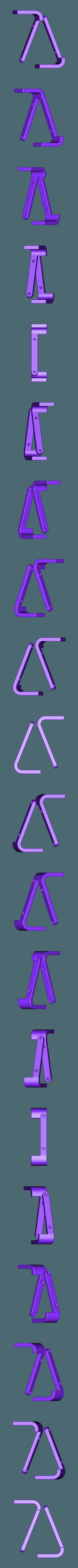 RTS-LEGS.STL Télécharger fichier STL gratuit Raspberry Pi Étui officiel pour écran tactile Raspberry Pi • Modèle pour imprimante 3D, mkellsy