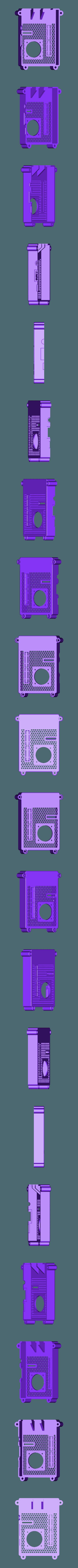 RTS-COVER-30FAN.STL Télécharger fichier STL gratuit Raspberry Pi Étui officiel pour écran tactile Raspberry Pi • Modèle pour imprimante 3D, mkellsy
