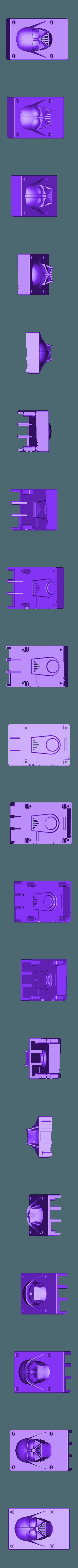 dessus.stl Download free STL file raspberry pi 3 b/b+ Star Wars shell • 3D printer template, designprojetscolaire