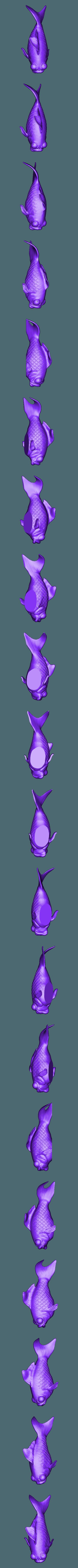 TJG_DeadGoldfish.stl Download free STL file ThatJoshGuy's Dead Goldfish • Template to 3D print, ThatJoshGuy
