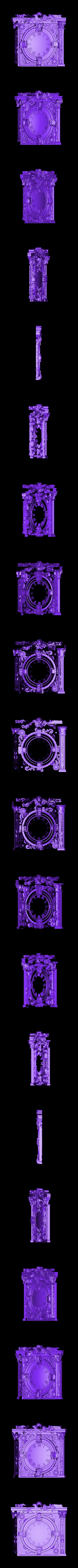 66 (1).stl Télécharger fichier STL gratuit Une vieille horloge d'époque • Modèle à imprimer en 3D, 3DPrinterFiles