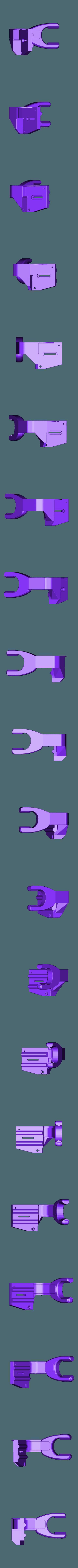 buse double flux.STL Download free STL file Direct Drive- E3DV6- Bondtech (right)-Bltouch • 3D printer template, kim_razor