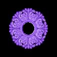 18.stl Télécharger fichier STL gratuit cadre art soleil circulaire • Modèle pour imprimante 3D, 3DPrinterFiles