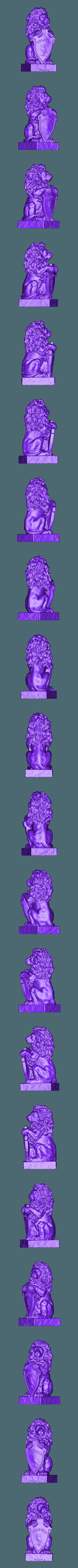175.stl Télécharger fichier STL gratuit Bienvenue lion blason sculpture buste de lion • Design à imprimer en 3D, 3DPrinterFiles