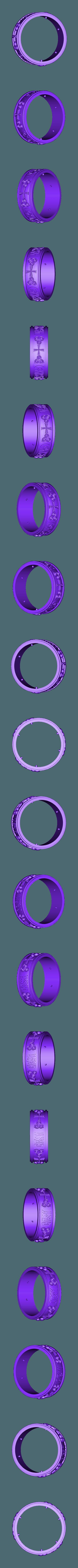 30.stl Download free STL file art ring • 3D printer template, 3DPrinterFiles