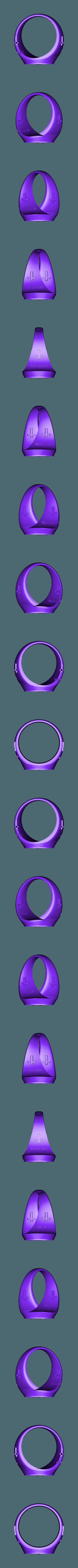 89.stl Télécharger fichier STL gratuit ring jesus cross religious • Design à imprimer en 3D, 3DPrinterFiles