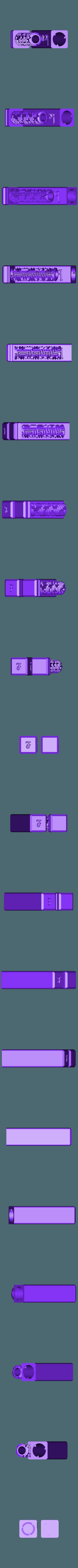all-lottery-ticket-easy.stl Télécharger fichier STL gratuit Lottery ticket gift box • Plan imprimable en 3D, RevK