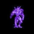 Golem_A1_pose_1.OBJ Download free OBJ file D&D Golem miniature - pose 1 • 3D printer model, SimonAublet