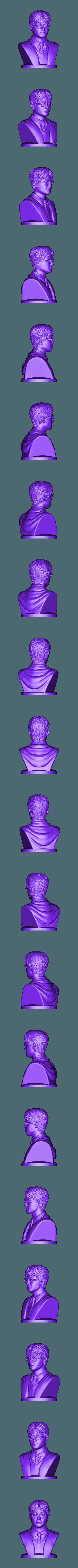 Harry_Potter_80mm.stl Télécharger fichier STL gratuit Harry Potter - Buste - 80mm • Modèle à imprimer en 3D, Alice_Masked