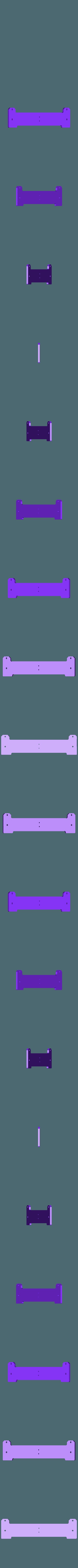 Posterior_base_larga.stl Télécharger fichier STL gratuit Amélioration du lit pour Prusa i3 • Plan imprimable en 3D, BQ_3D