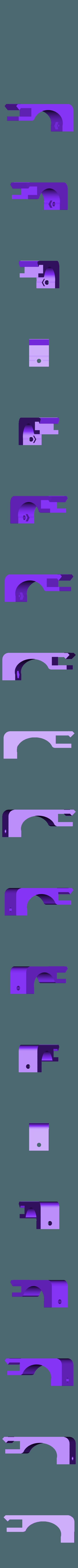 EjeY_final_carrera_base_larga.stl Télécharger fichier STL gratuit Amélioration du lit pour Prusa i3 • Plan imprimable en 3D, BQ_3D
